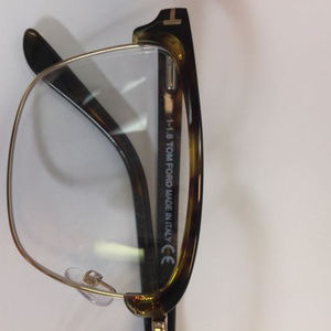 5d5c9ff0ff855 Tom Ford Accessories - Tom Ford TF5504 052 Havana Gold Eyeglasses 54mm